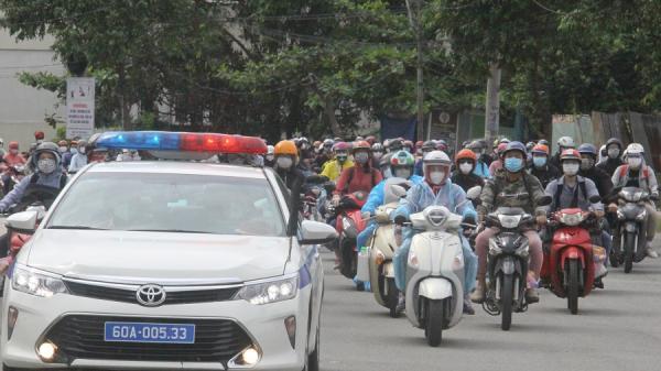 Đồng Nai đón hơn 2.300 người bị 'kẹt' ở TP.HCM, Bình Dương trở về