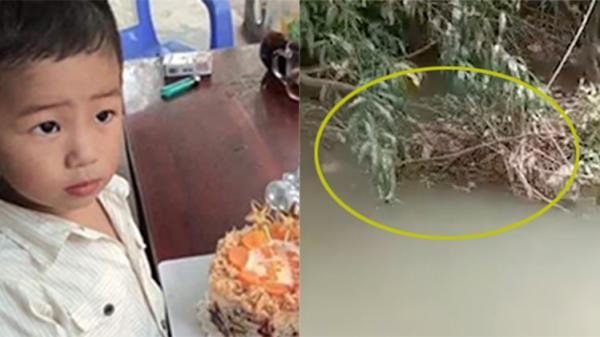 Clip cận cảnh hiện trường nơi phát hiện thi thể cháu bé 2 tuổi sau 5 ngày mất tích: Cây cối rậm rạp, khó đi