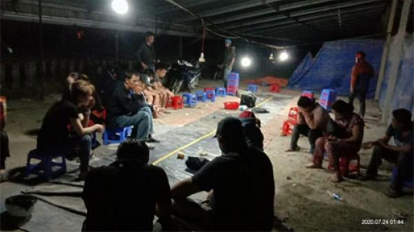 Bình Thuận: Phá sới bạc trong lò gạch