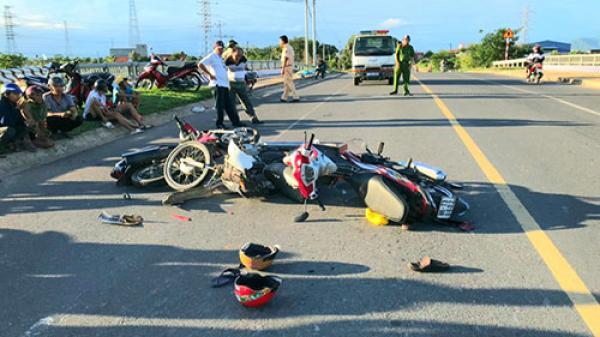 Bình Thuận: Tai nạn 3 xe máy khiến 1 người chết