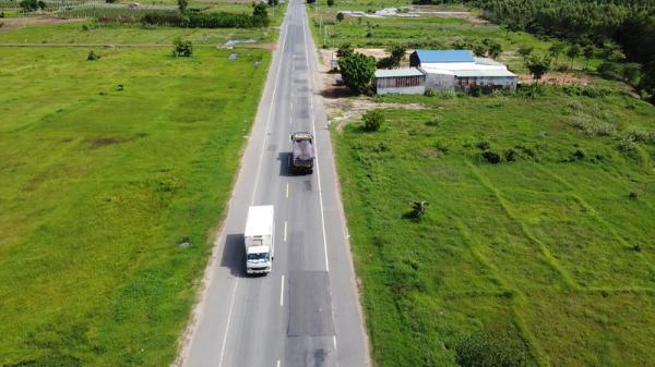 Cận cảnh dự án đường tránh gần 60 tỷ chi chít 'vết thương' ở Bình Thuận