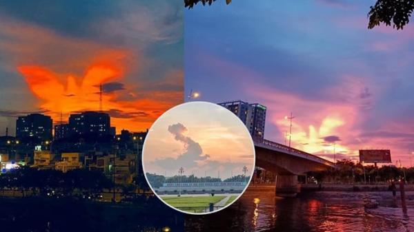 """Khoảnh khắc """"Bắc rồng bay, Nam phượng múa"""" trên bầu trời Việt Nam"""