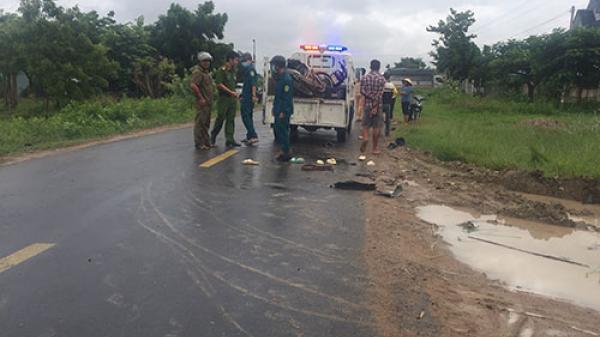 Bình Thuận: Hai xe máy tông nhau khiến 1 người chết