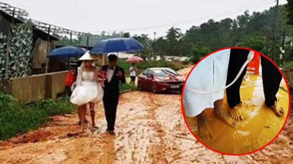 Dở khóc dở cười đám cưới bốc trùng combo Covid 19 mưa bão đường đất