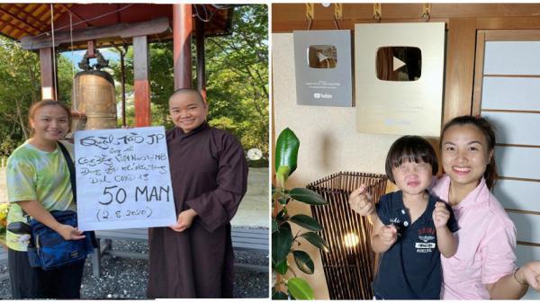 Quỳnh Trần JP ủng hộ kiều bào khó khăn ở Nhật hơn 100 triệu đồng, CĐM khen ngợi hết lời