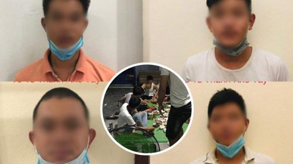 Tụ tập ăn nhậu, 4 thanh niên Đà Nẵng bị phạt 42,5 triệu đồng