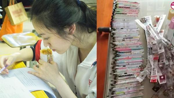 Con gái đỗ vào trường đại học danh tiếng với điểm số cao chót vót, nhưng khi dọn ngăn kéo bàn học của con, người mẹ đã òa khóc