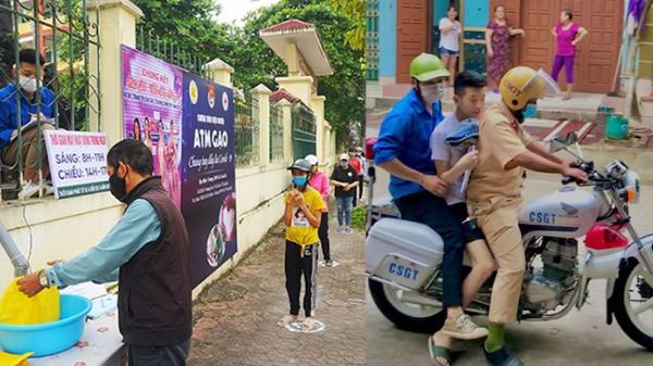 """Nam sinh ngủ quên được CSGT chở đi thi là tác giả """"cây ATM gạo học đường"""" của Lào Cai"""