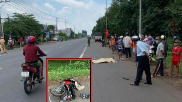Video: Thanh niên chạy xe máy bạt mạng tử nạn trên Quốc lộ 20 đoạn đi qua Đồng Nai