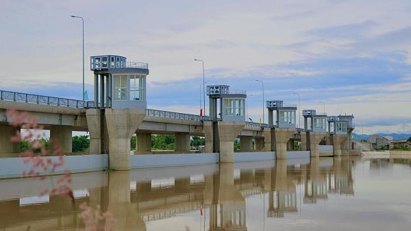 Ninh Thuận: Khánh thành công trình đập hạ lưu gần 700 tỉ đồng
