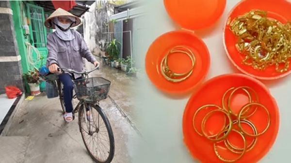 Người phụ nữ nhặt ve chai trả lại 1,4 cây vàng cho người mất: 'Cả đời tôi chưa từng cầm số vàng lớn như thế'