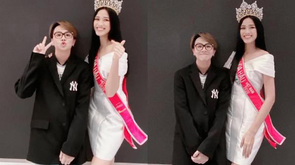 Góc bối rối: Dụi mắt vài lần mới nhận ra tân Hoa hậu Việt Nam Đỗ Thị Hà bên Duy Khánh, gương mặt hốc hác đáng lo