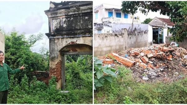 Ninh Thuận: Khu di tích lịch sử cấp quốc gia đang bị xuống cấp nghiêm trọng