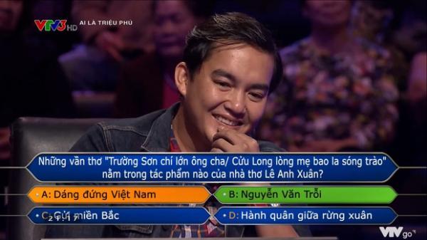 Trần Đặng Đăng Khoa - người đầu tiên quyết chơi đến câu 15 ở Ai Là Triệu Phú: Nghe MC đọc xong đã biết không trả lời được nhưng tính tôi thế!