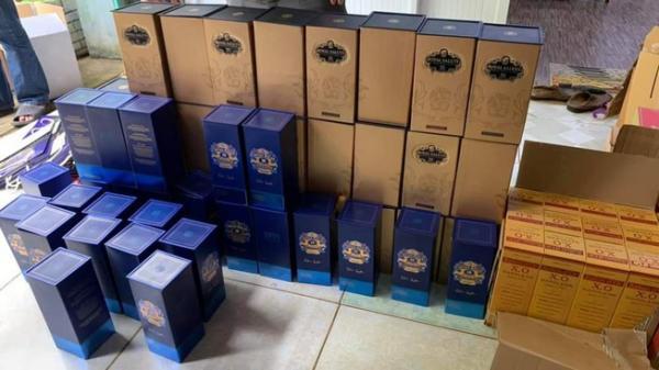 Phát hiện cơ sở làm rượu XO, Chivas giả ở Bà Rịa - Vũng Tàu