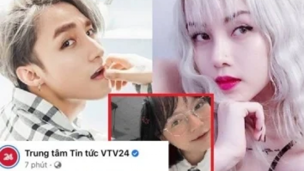 VTV thẳng tay 'cà khịa' chuyện Sơn Tùng chia tay Thiều Bảo Trâm ghi do 'trà xanh', dân mạng thích thú