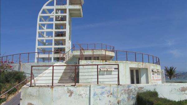 Ninh Thuận: Công viên biển Bình Sơn xuống cấp, hư hỏng nghiêm trọng