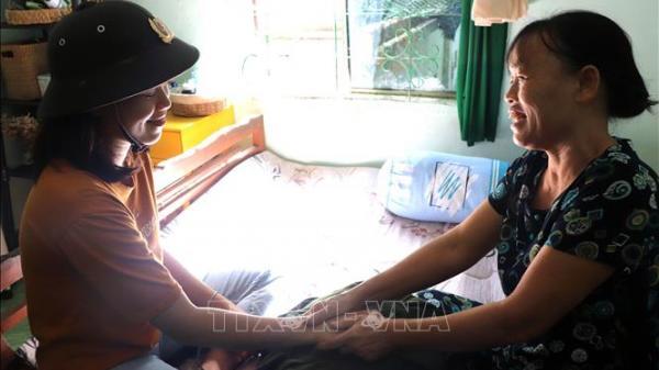 Ninh Thuận: Cô gái Raglai tự hào khi được mang trên mình bộ quân phục