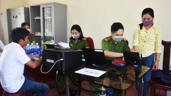 Bà Rịa-Vũng Tàu: Về tận xã làm căn cước công dân