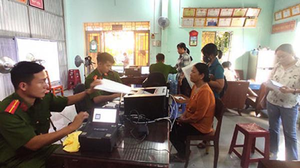 Tuy Phong bắt đầu cấp thẻ căn cước công dân gắn chíp