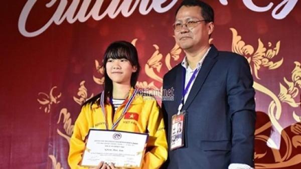 Nhà vô địch nữ trẻ cờ vua châu Á giành học bổng 3,3 tỷ đồng
