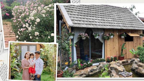 Mẹ Vũng Tàu dựng nhà gỗ 15m2 làm chốn lui về, trồng 50 khóm hồng bao quanh như thiên đường