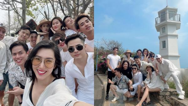 Thúy Ngân đăng ảnh đi chơi cùng hội bạn thân, netizen đồng loạt gọi tên Trương Thế Vinh