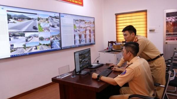 """""""Mắt thần"""" tố cáo hơn 7.000 xe vi phạm giao thông trên QL1 qua Ninh Thuận"""