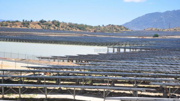 Ninh Thuận: Chặn đứng xâm phạm của điện mặt trời ảnh hưởng đến hồ thủy lợi