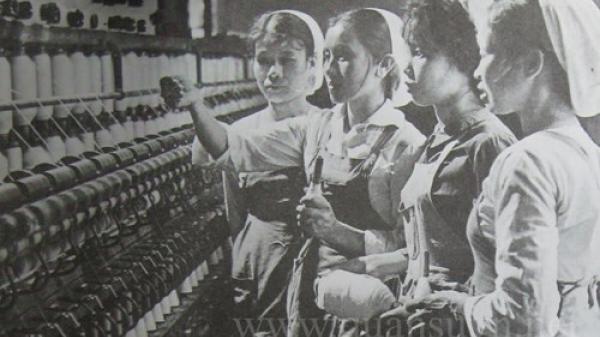 Sai, nhà máy dệt Nam Định trước đây thuộc loại lớn nhất Đông Dương
