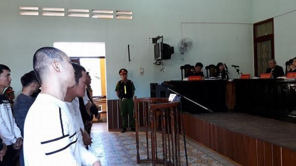 Xét xử vụ án Trần Trung Hùng (quê Nam Định) cùng đồng bọn với hàng loạt tội danh nghiêm trọng