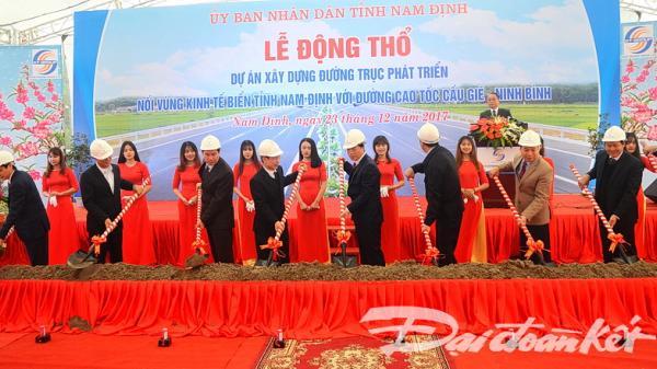 Gần 5000 tỷ đồng xây dựng tuyến đường kết nối vùng kinh tế biển tỉnh Nam Định