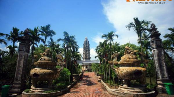 Nam Định: Độc đáo ngôi chùa cổ lai thánh đường Công giáo ở Việt Nam