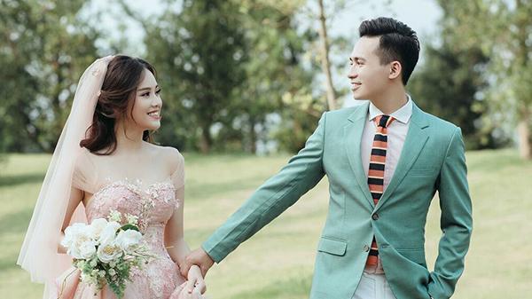 """""""Cô gái đẹp nhất Thái Nguyên"""" tung ảnh cưới đẹp mê mẩn bên chồng hot boy"""
