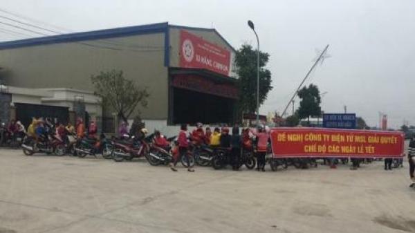 Nam Định: Hơn 400 công nhân Công ty TNHH kỹ thuật điện tử MLS Việt Nam trở lại làm việc