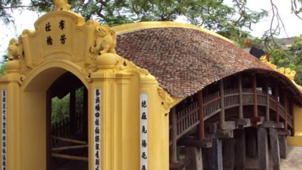 Nam Định: Độc đáo Cầu Ngói-chùa Lương kiến trúc cầu cổ đẹp nhất Việt Nam