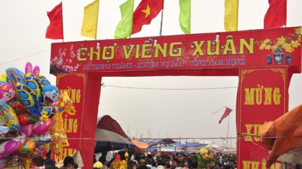 """Độc đáo phiên chợ """"bán không nói thách, mua không mặc cả"""" của vùng đất Nam Định"""