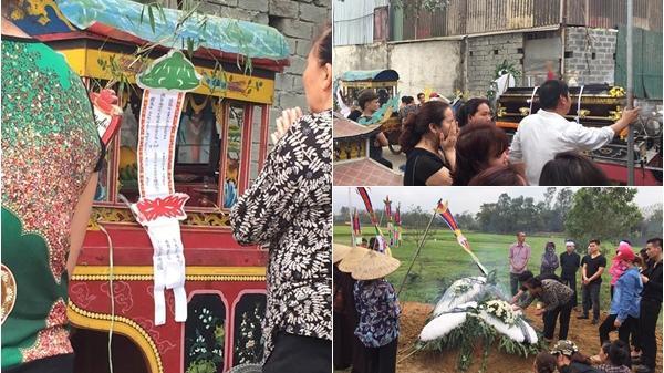 Xót xa đám tang cô gái liên quan đến vụ Châu Việt Cường, ít người đến, bố đẻ cũng không có mặt