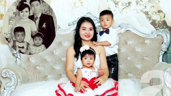 Xót xa người vợ sinh con khi chồng đã mất và bức ảnh ghép khiến ai cũng phải rơi lệ