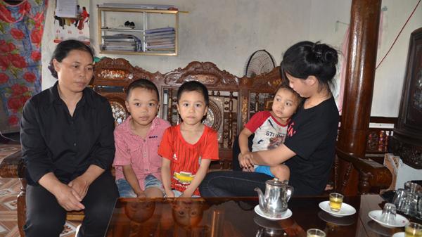 Nam Định: Tương lai mịt mờ của ba trẻ mồ côi cha mẹ