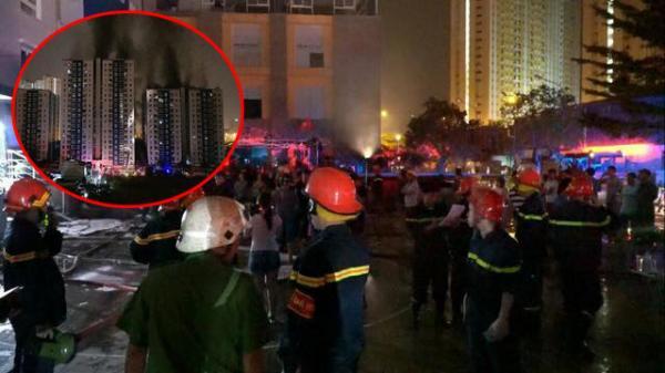Thủ tướng chỉ đạo làm rõ nguyên nhân cháy chung cư Carina Plaza