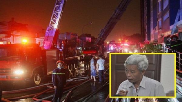 Công bố nguyên nhân ban đầu vụ cháy khiến 13 người chết ở chung cư Carina