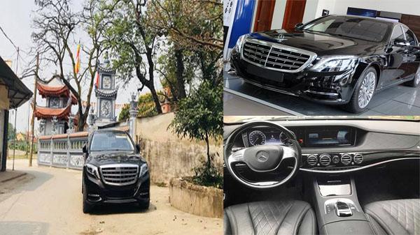 Xe siêu sang Mercedes-Maybach S600 giá hơn 14 tỷ lăn bánh tại Nam Định