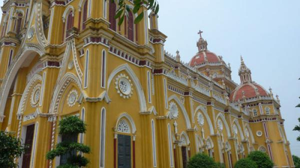 Những nhà thờ đẹp ở Nam Định