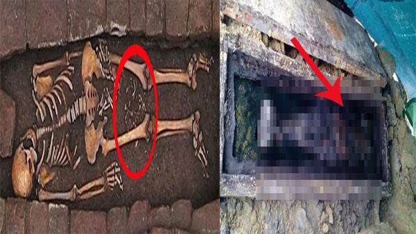 Phát hiện gây sốc: Sản phụ Trung cổ vẫn sinh con dưới mộ dù đã... chết