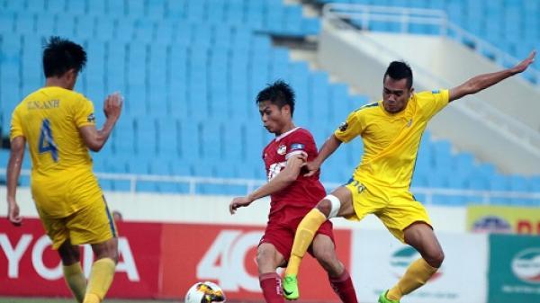 Nam Định lên ngôi đầu bảng Giải Bóng đá hạng Nhất quốc gia 2017