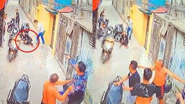 Thương tâm cảnh người mẹ bị bắn trúng ngực khi lao ra đỡ đạn cho con