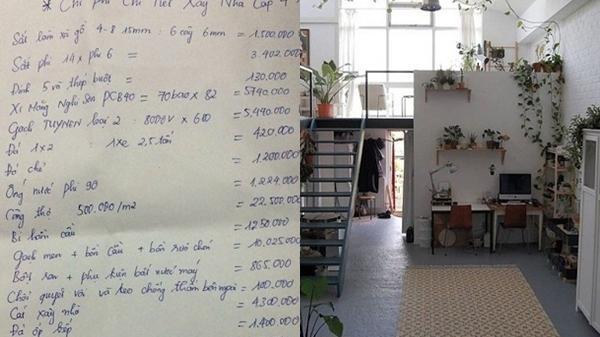 Vợ chồng trẻ xây nhà cấp 4 đẹp long lanh với tổng chi phí vỏn vẹn 83 'củ'