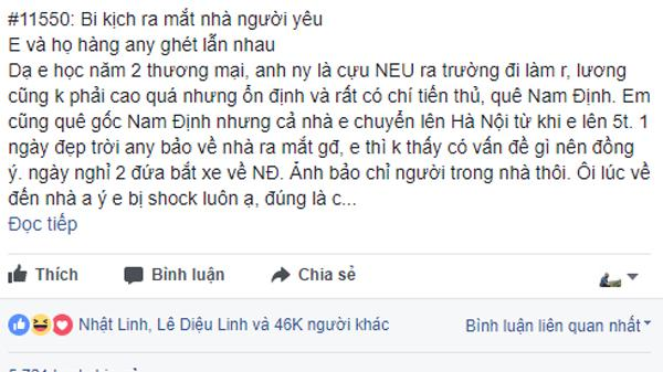 """Tranh cãi dậy sóng quanh """"bi kịch"""" ra mắt nhà người yêu ở Nam Định: Cô gái """"hết hồn"""" vì bị cả họ hàng soi mói, chê tiểu thư"""
