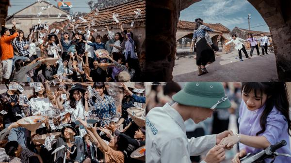 Bộ ảnh kỷ yếu tái hiện thời bao cấp CHẤT LỪ của học sinh Nam Định, ai xem cũng phải trầm trồ